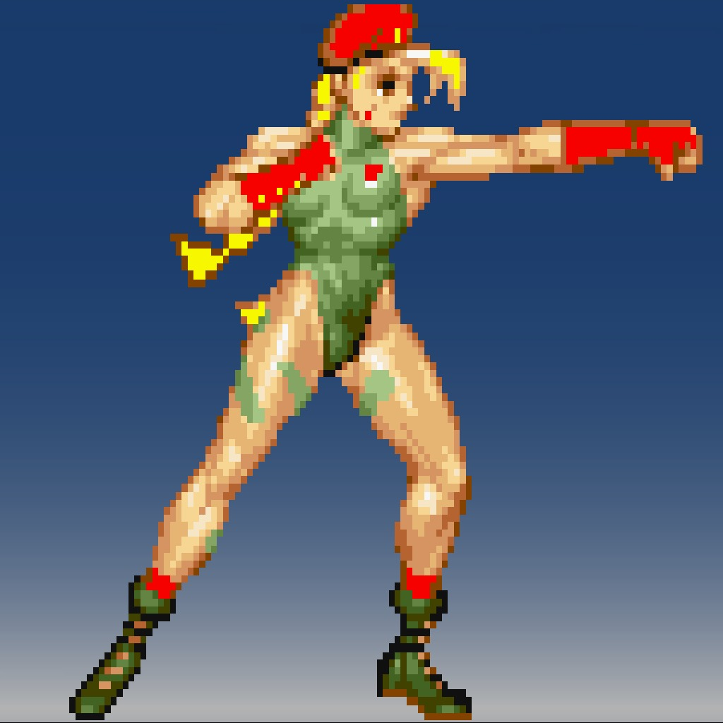 Street Fighter® IV 16bit Cammy Avatar