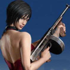Resident Evil® 4 Ada with Tommy Gun Avatar