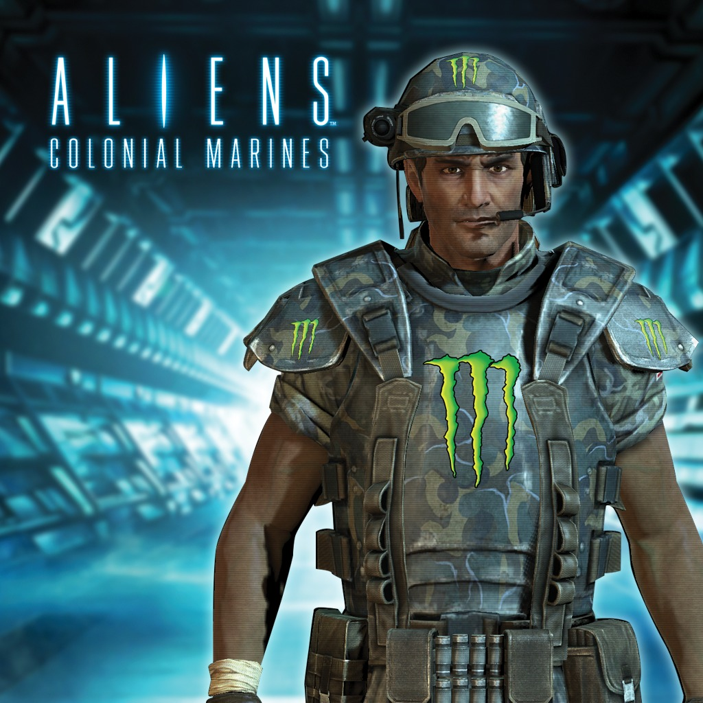 Aliens: Colonial Marines Monster Energy Customization