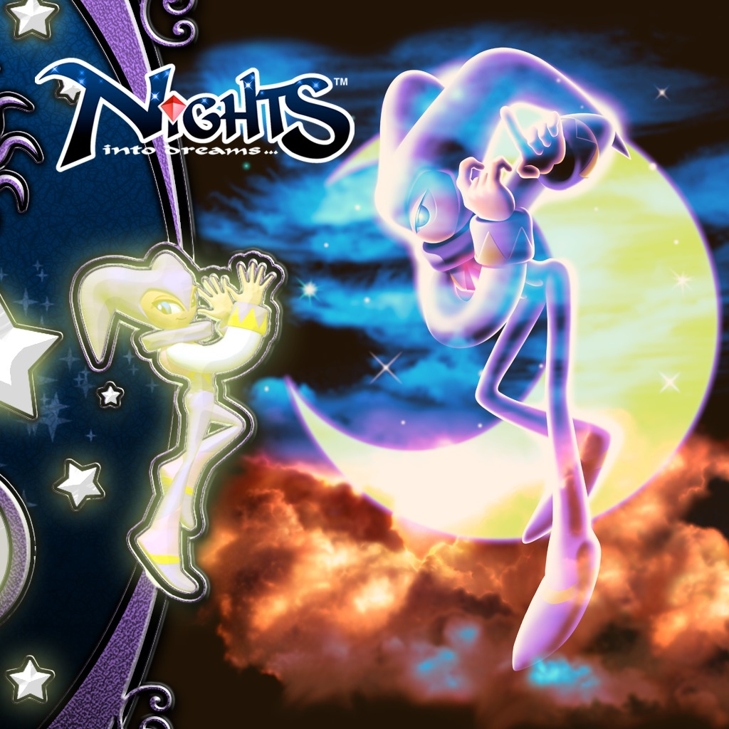 NiGHTS into dreams... Premium Theme