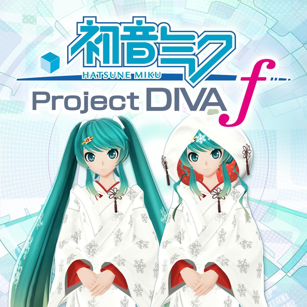 Hatsune Miku: Project DIVA f Snow Miku 2013 Costumes