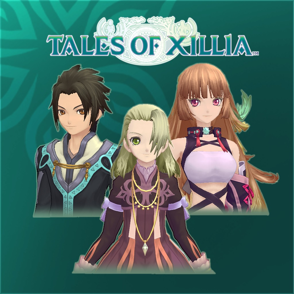 Tales of Xillia™ Attachments: Front Hair Set