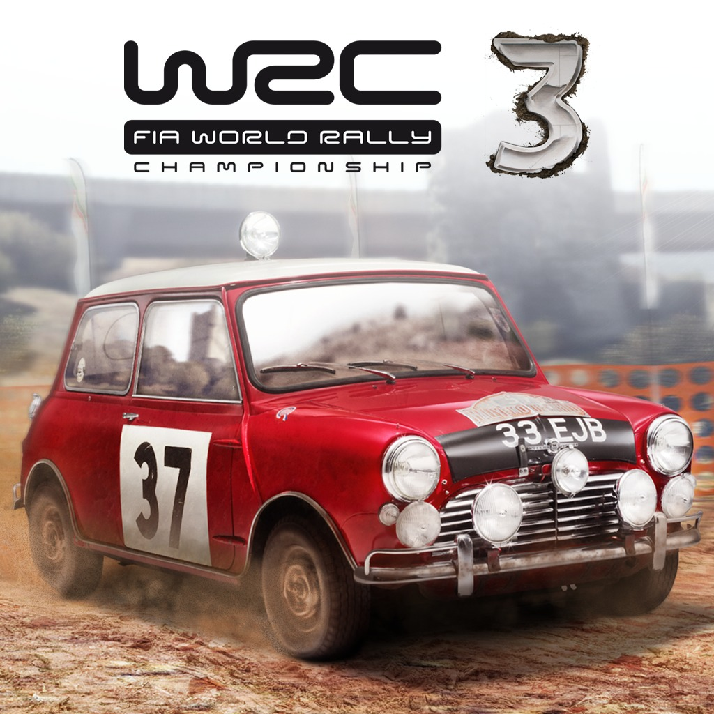 WRC 3 FIA World Rally Championship Mini Cooper S 1967