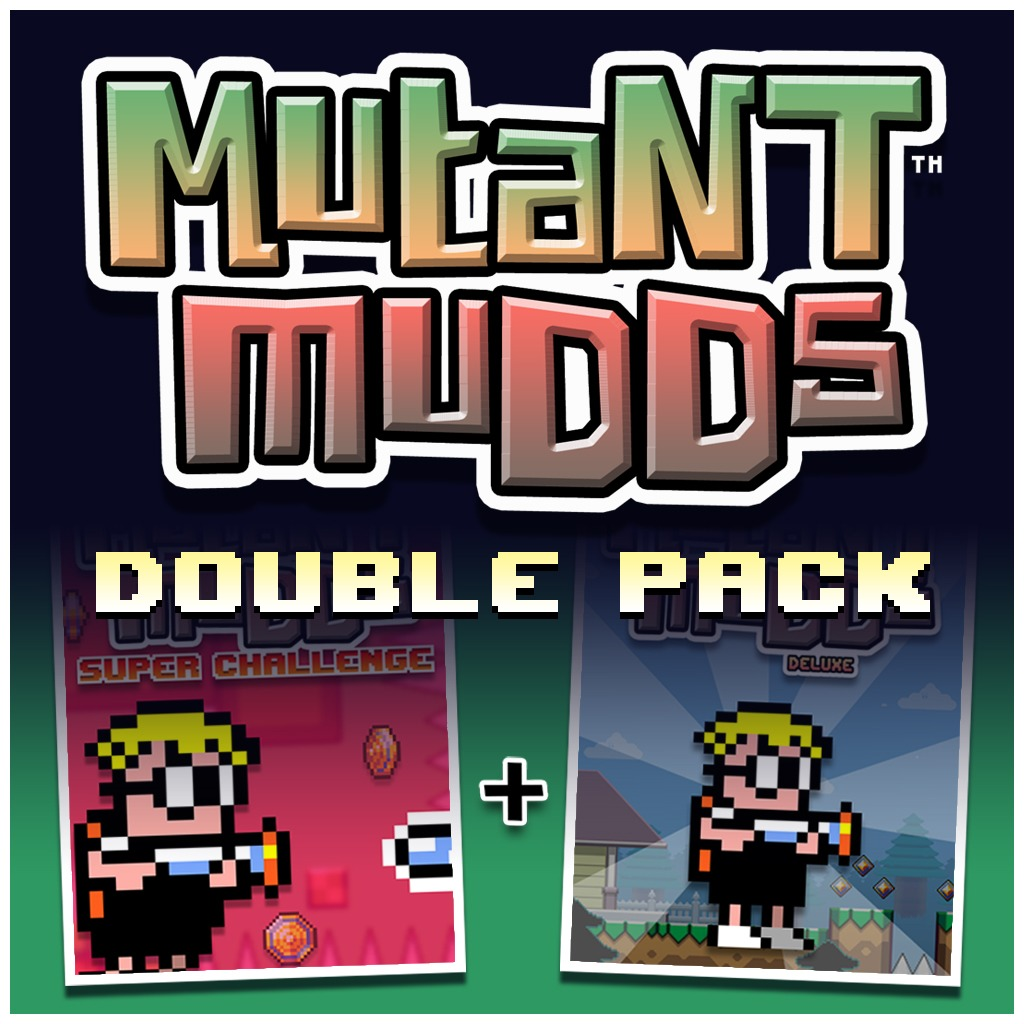 Mutant Mudds Double Pack