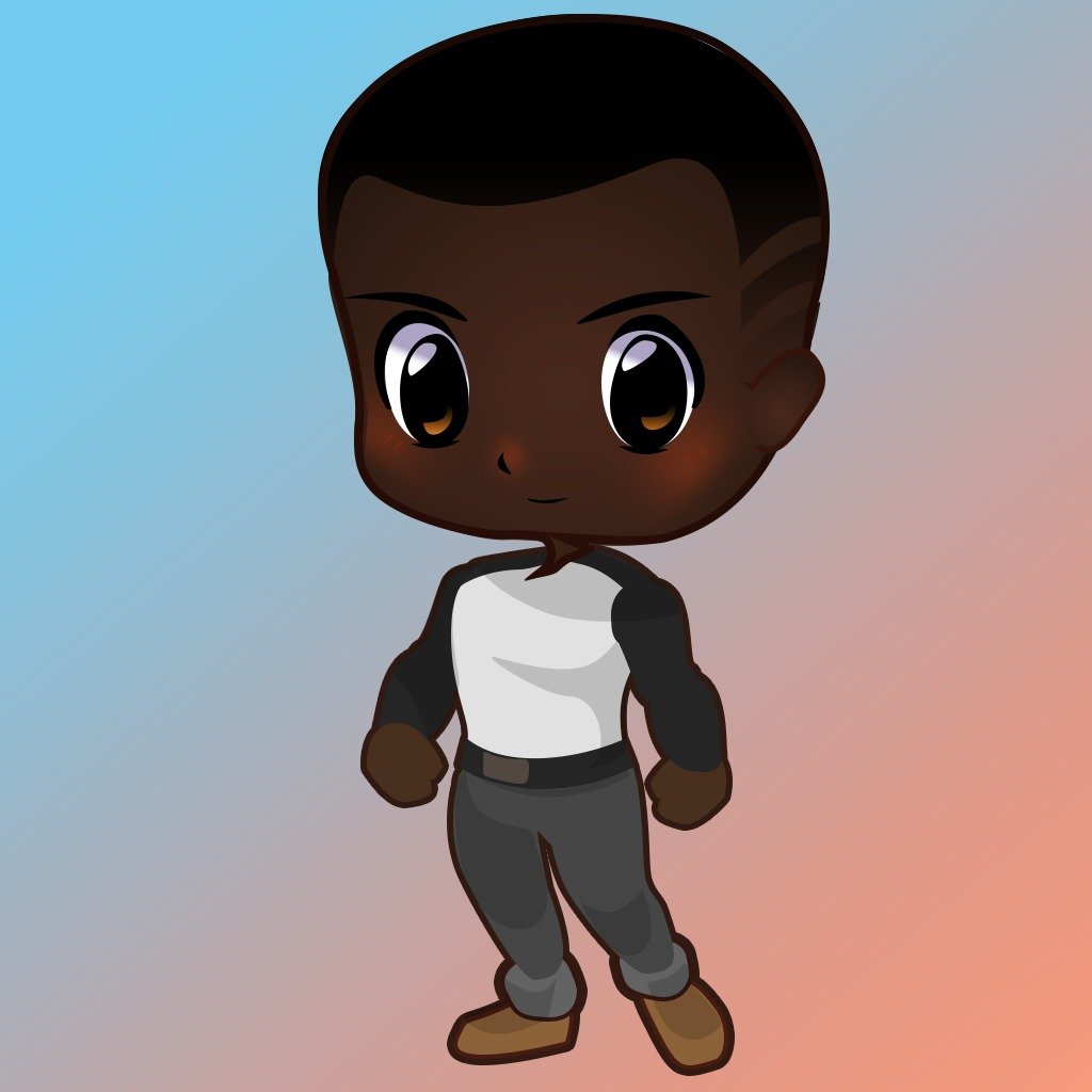 Truant Pixels: Black Boy Avatar