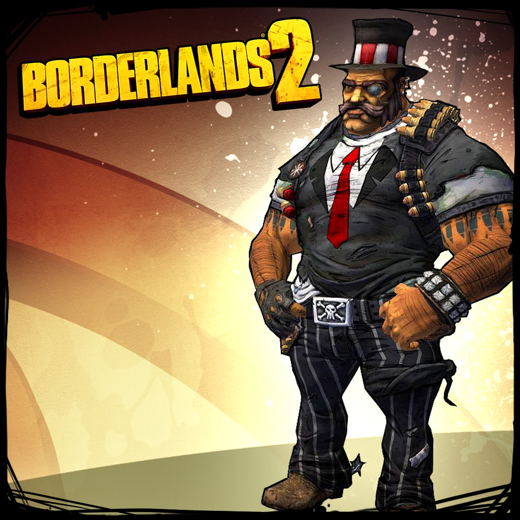 Borderlands 2 Gunzerker Dapper Gent Pack