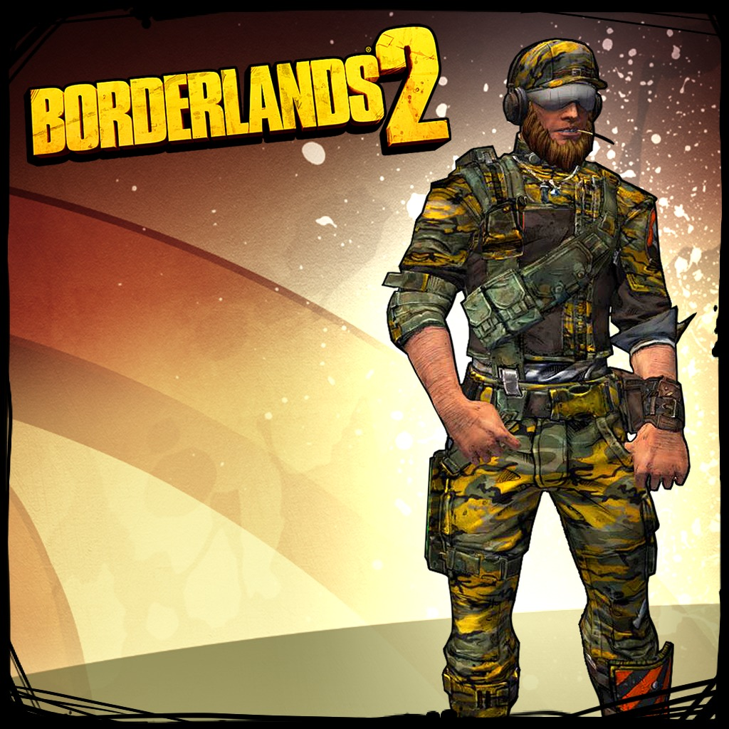 Borderlands 2 Commando Haggard Hunter Pack