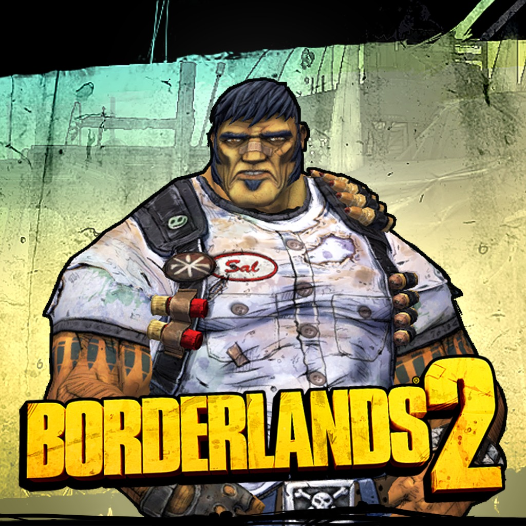 Borderlands 2 Gunzerker Greasy Grunt Pack