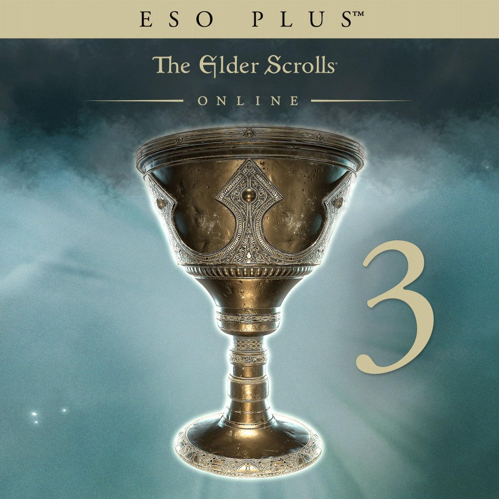 The Elder Scrolls Online - ESO Plus - 3 Months