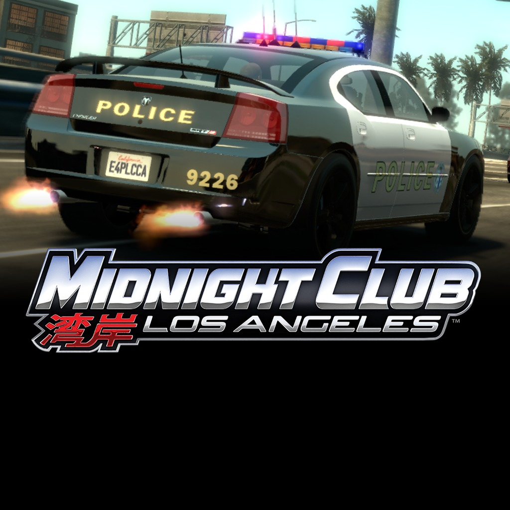 Midnight Club Los Angeles: Police Car Pack