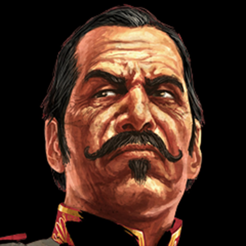 RED DEAD REDEMPTION COLONEL ALLENDE CARDS AVATAR