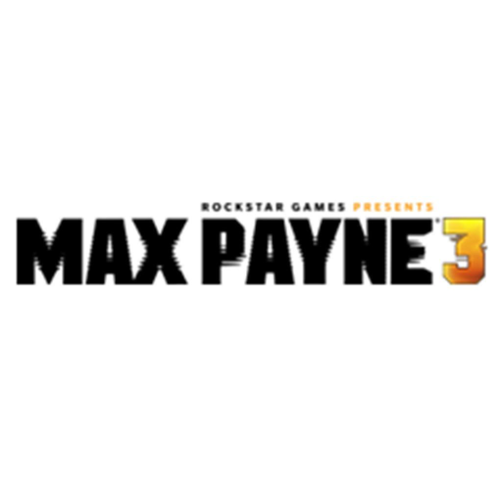 Max Payne®3 Black Logo Avatar
