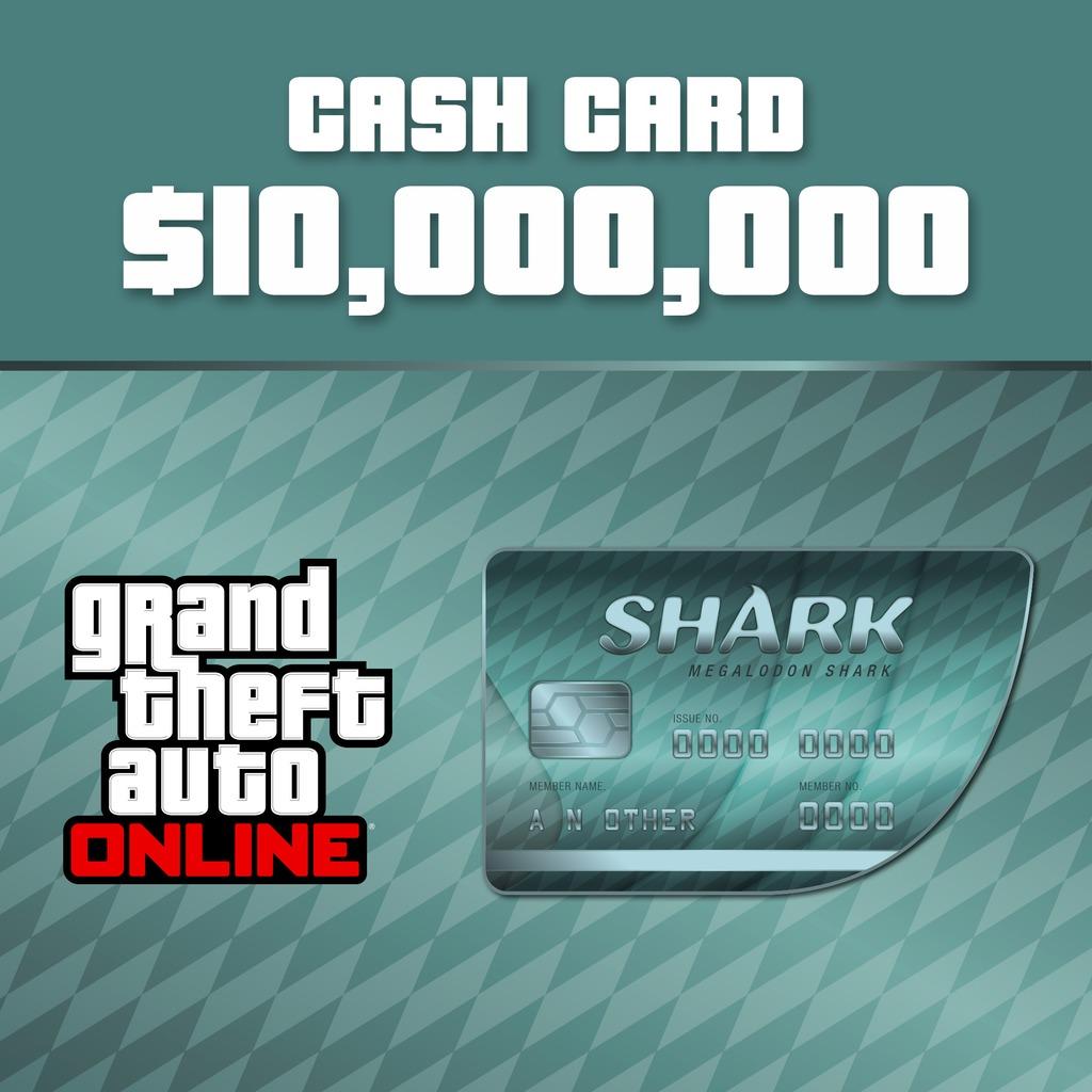 Grand Theft Auto Online Megalodon Shark Cash Card
