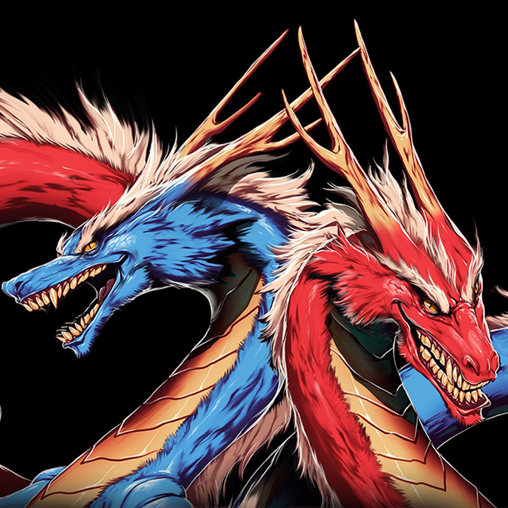 Double Dragon Neon Double Dragons Avatar