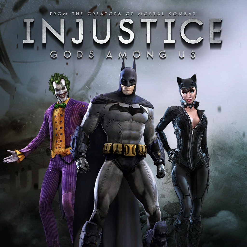 Injustice: Gods Among Us - Arkham City Skin Pack