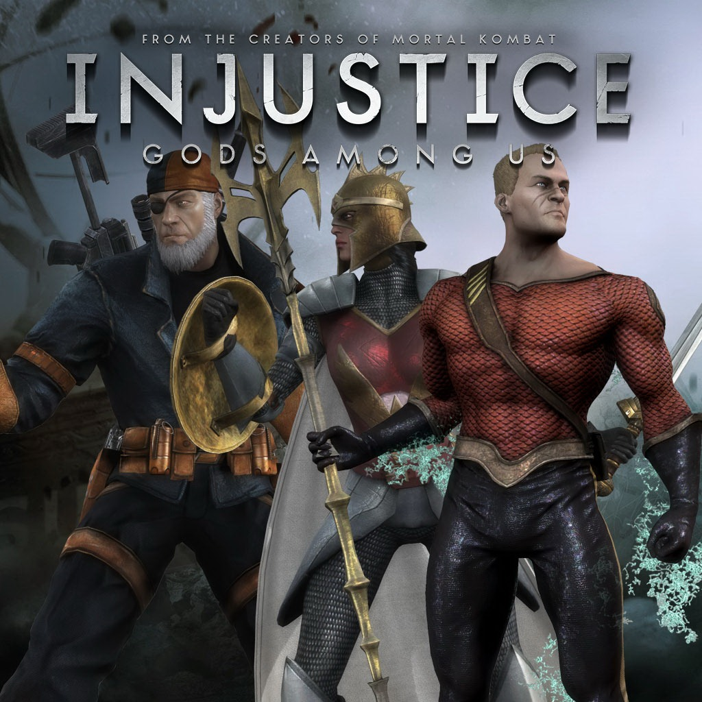 Injustice: Gods Among Us - Flashpoint Skin Pack