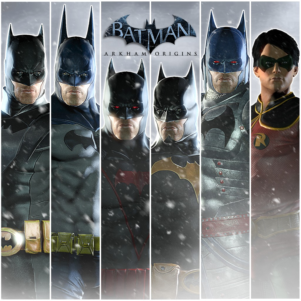 Arkham Origins: Infinite Earths Skins Pack