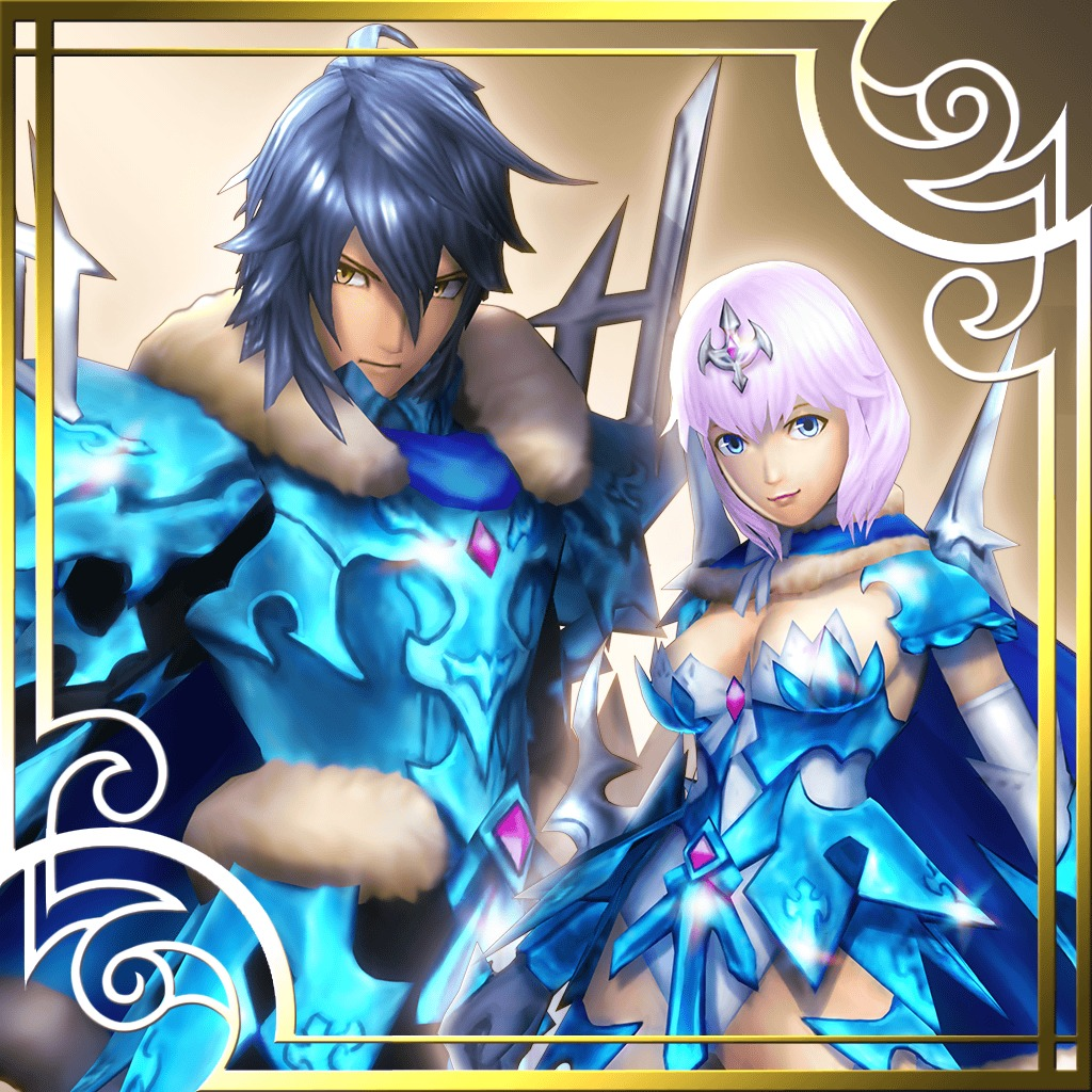 Ragnarok Odyssey ACE - Absolute Zero Destroyer Set
