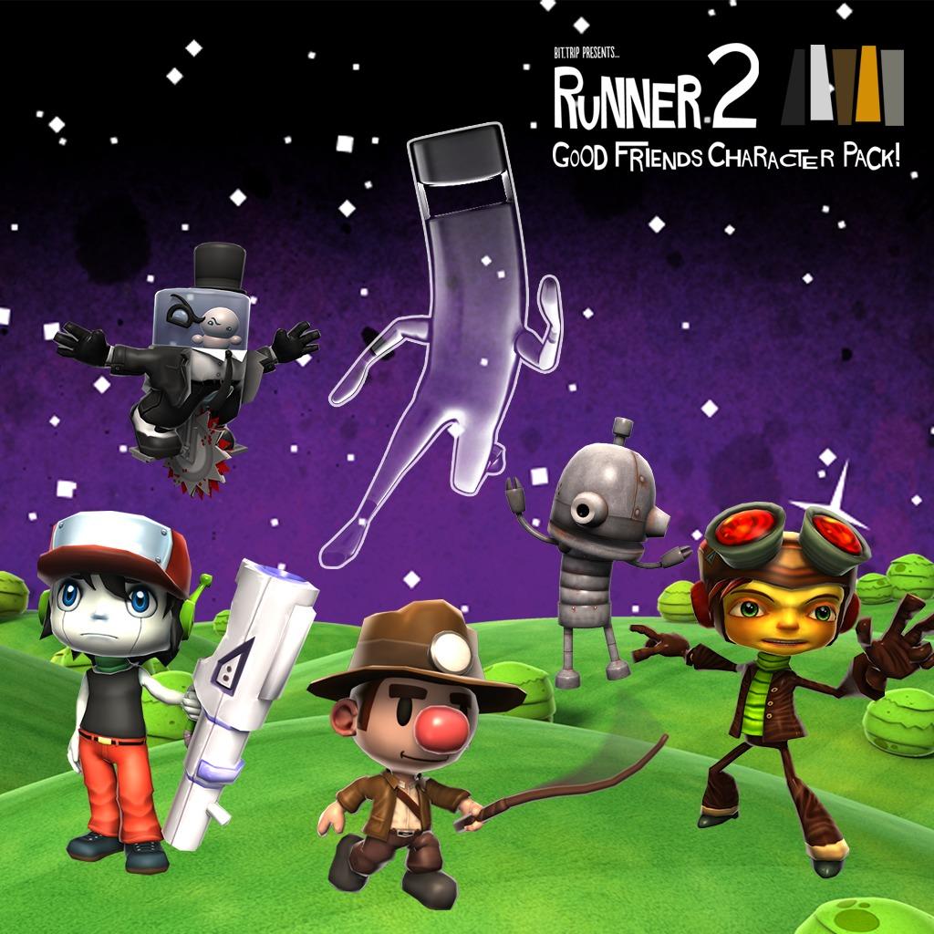 Runner2: Good Friends Character Pack