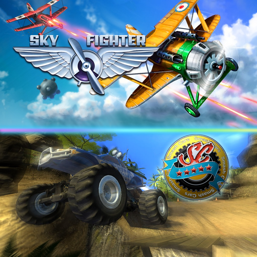 Smash Cars and SkyFighter Bundle