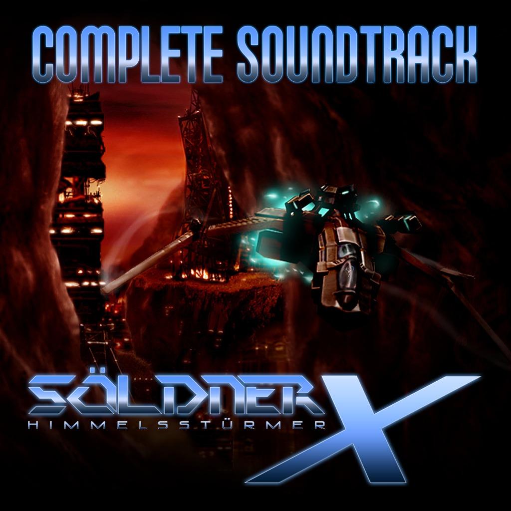 Soldner-X: Himmelssturmer Complete Soundtrack