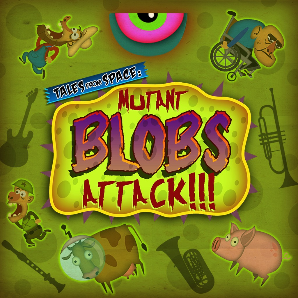 Tales from Space: Mutant Blobs Attack - Delicious Bundle