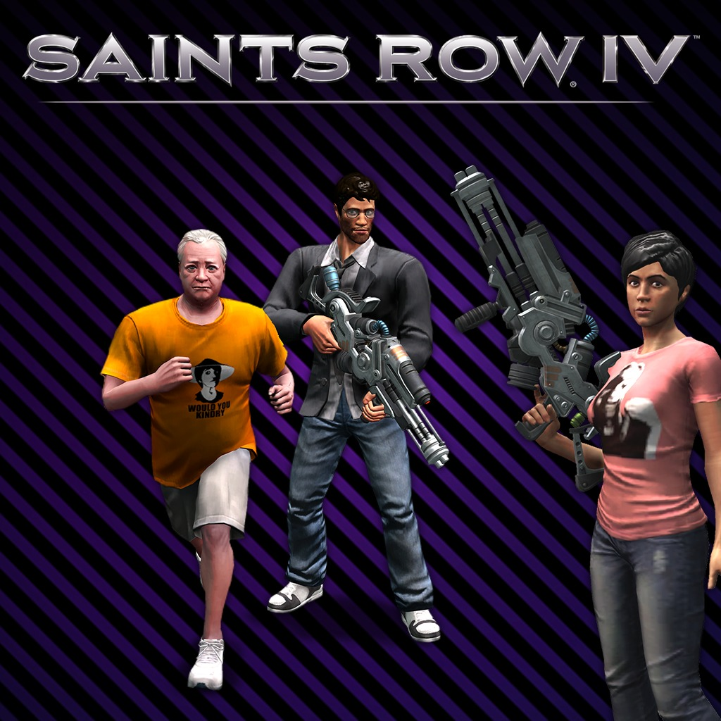 Saints Row IV - Hey Ash, Whatcha Playin'? Pack