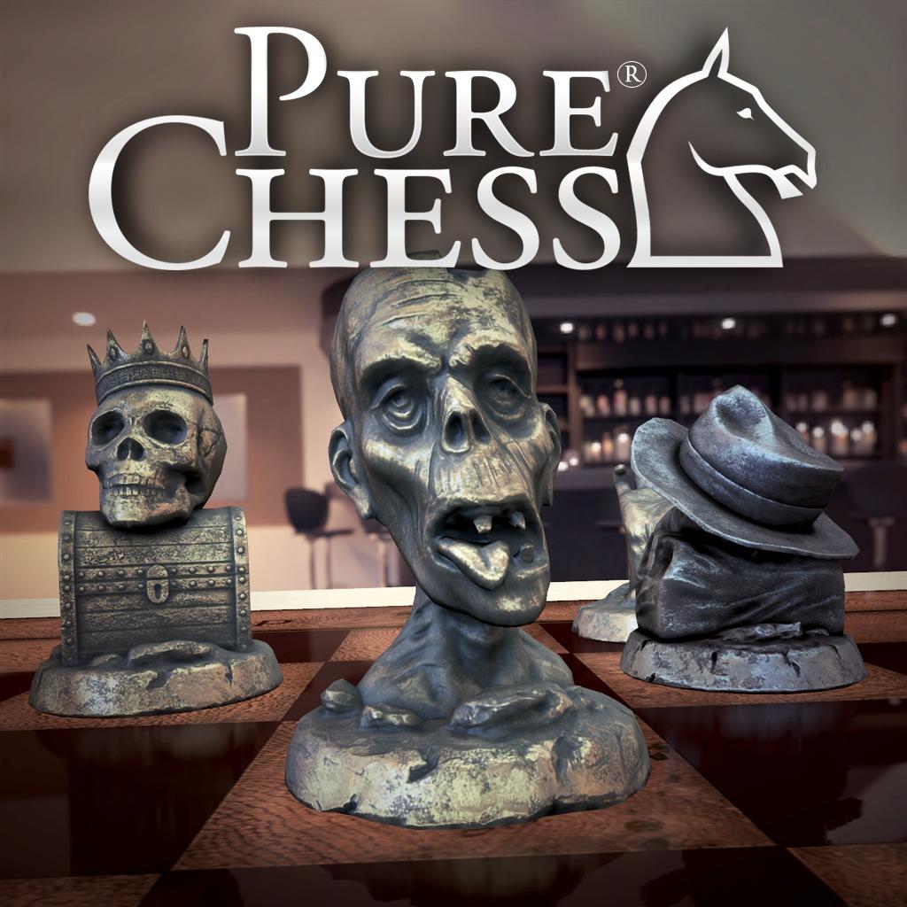 Pure Chess® Halloween Chess Set