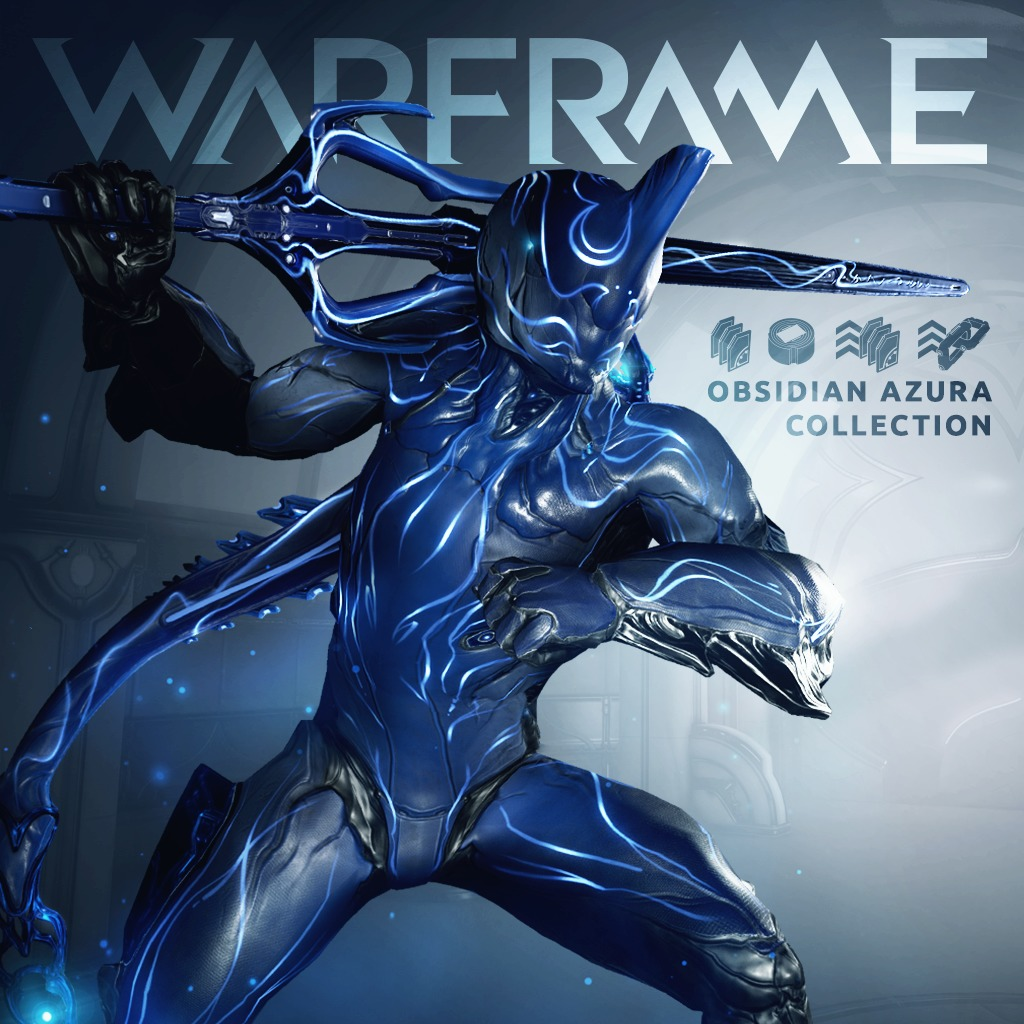 Warframe®: PS4™ Obsidian Azura Collection