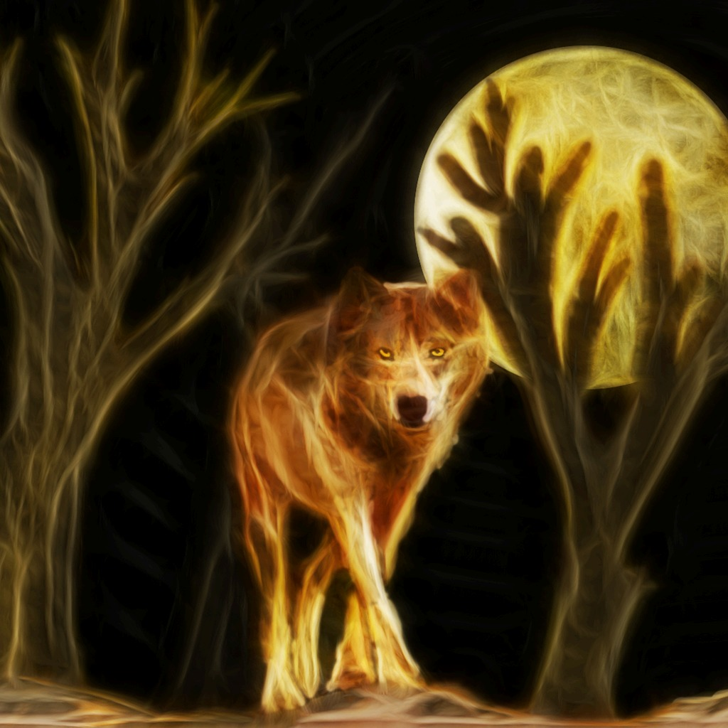 NIGHT WOLF AVATAR