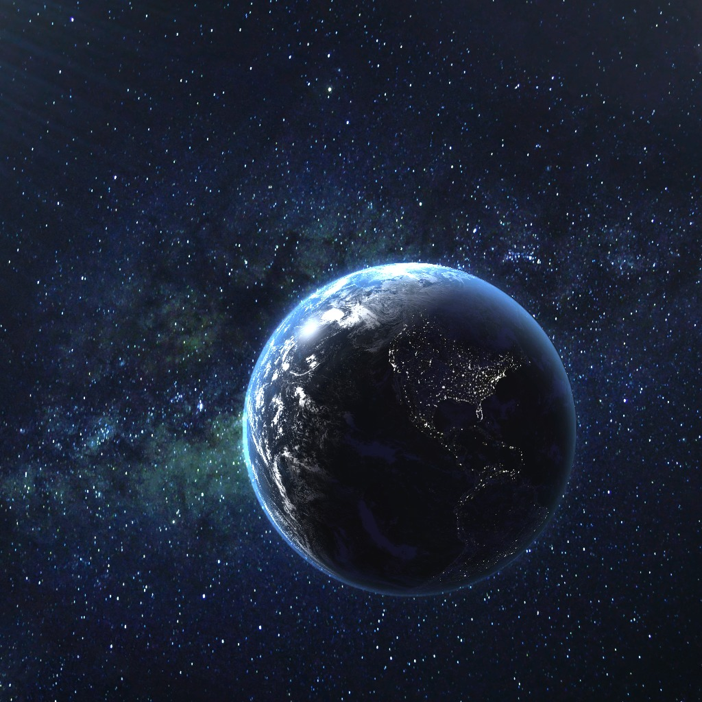 3D Axis Earth Dynamic Theme