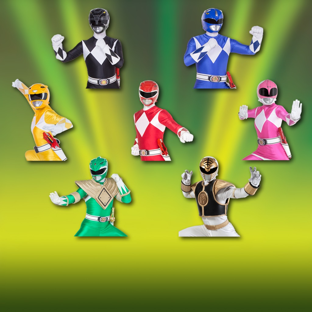 Power Rangers - Action Pose Avatar Bundle
