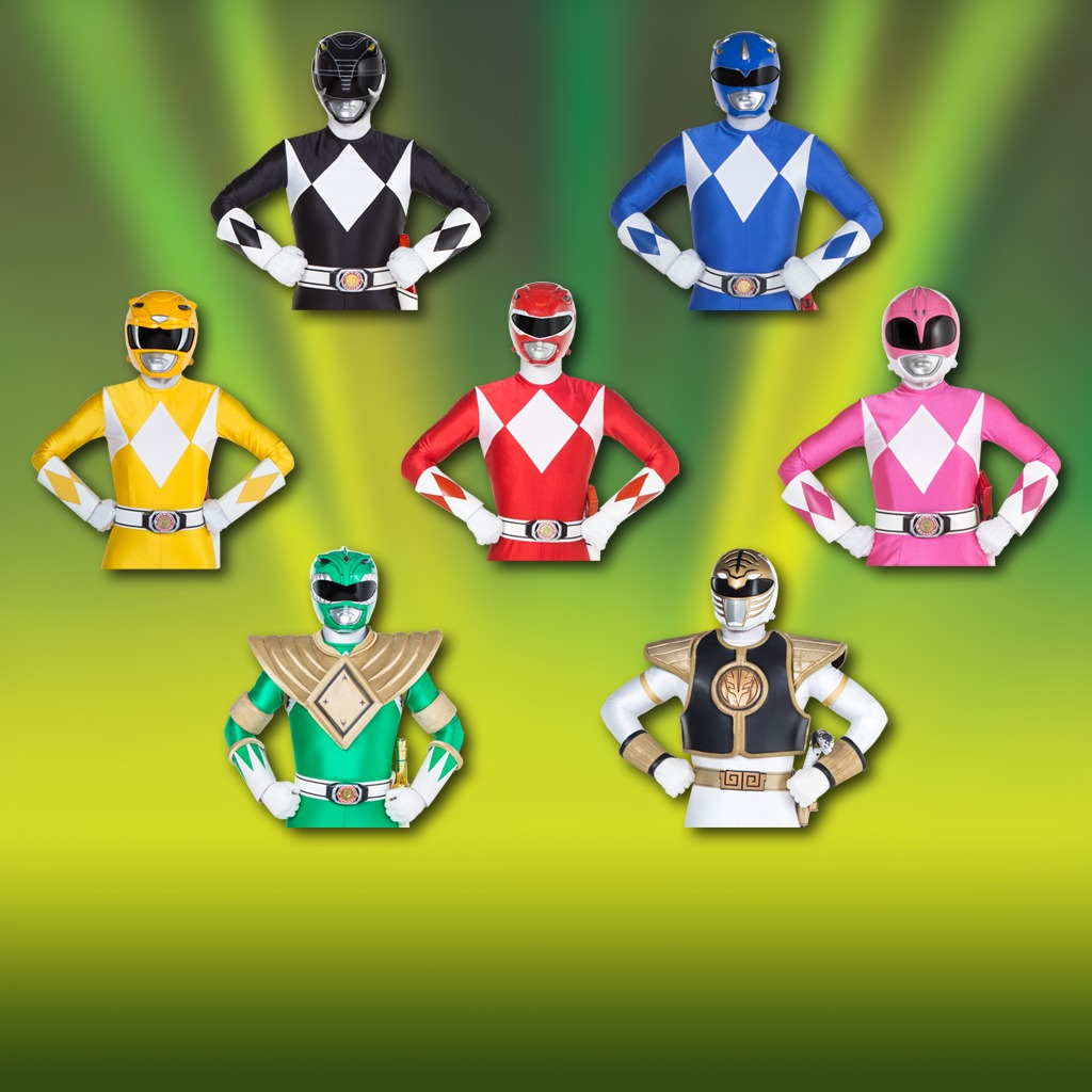 Power Rangers - Classic Pose Avatar Bundle