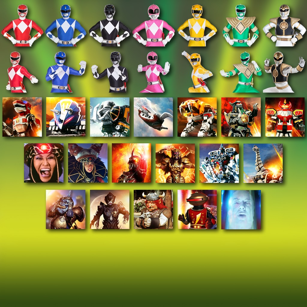 Power Rangers - Complete Avatars Bundle
