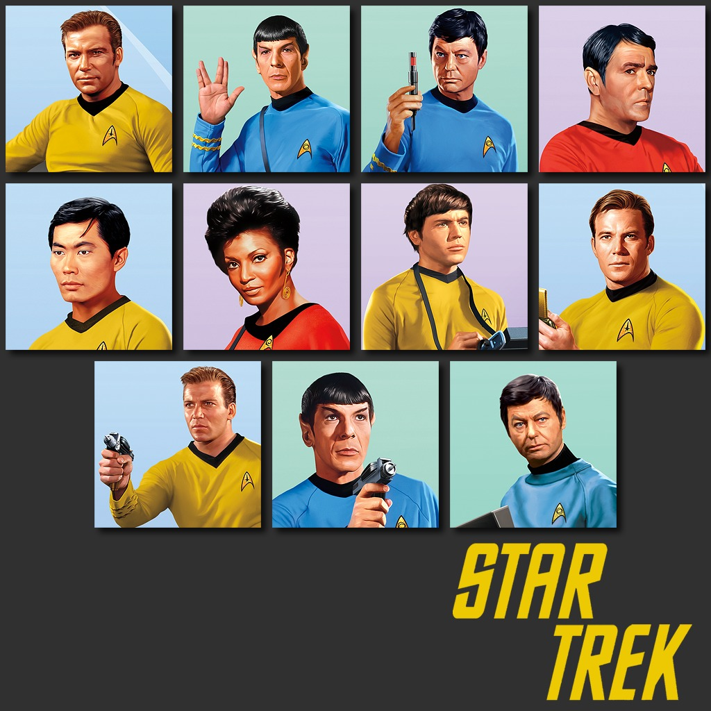 Star Trek Illustrated Avatar Bundle