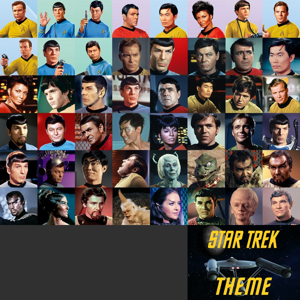 Star Trek Ultimate Dynamic Theme and Avatars Bundle