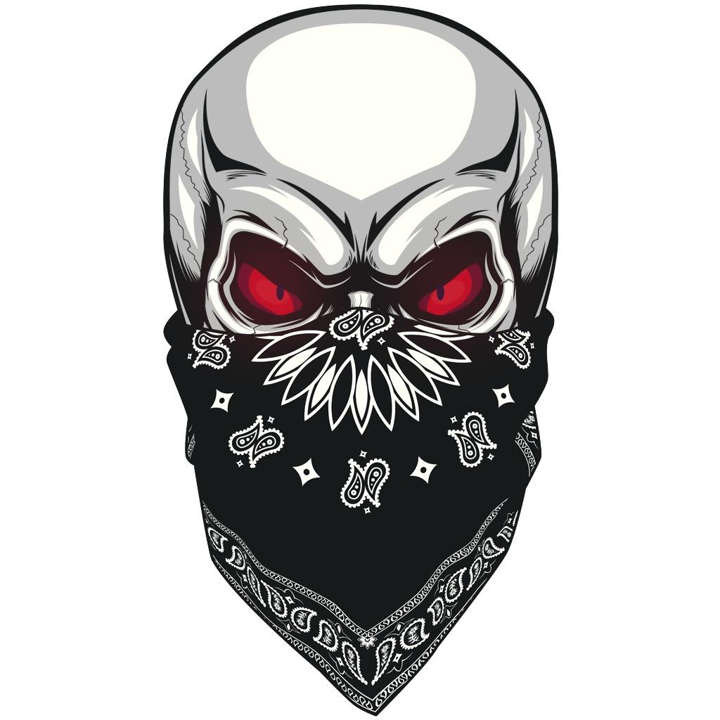 Gangsta Masked Skull Avatar
