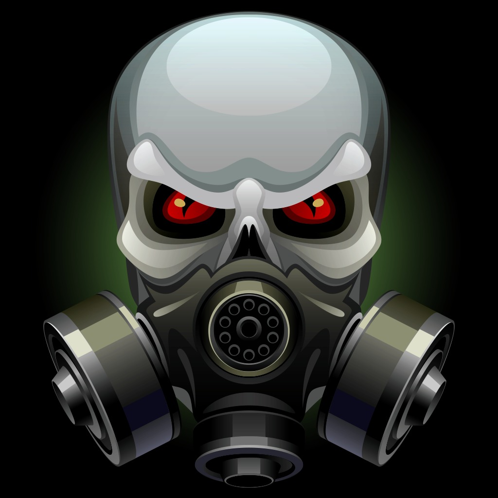 Skull in the Gas Mask Avatar