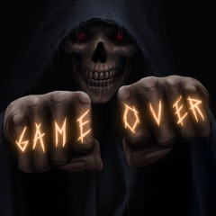 Game Over Skull Avatar