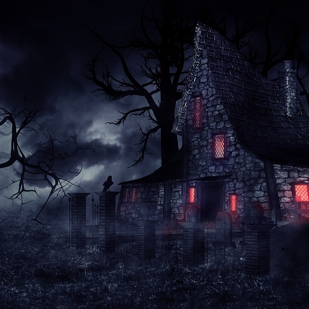 Spooky House Dynamic Theme