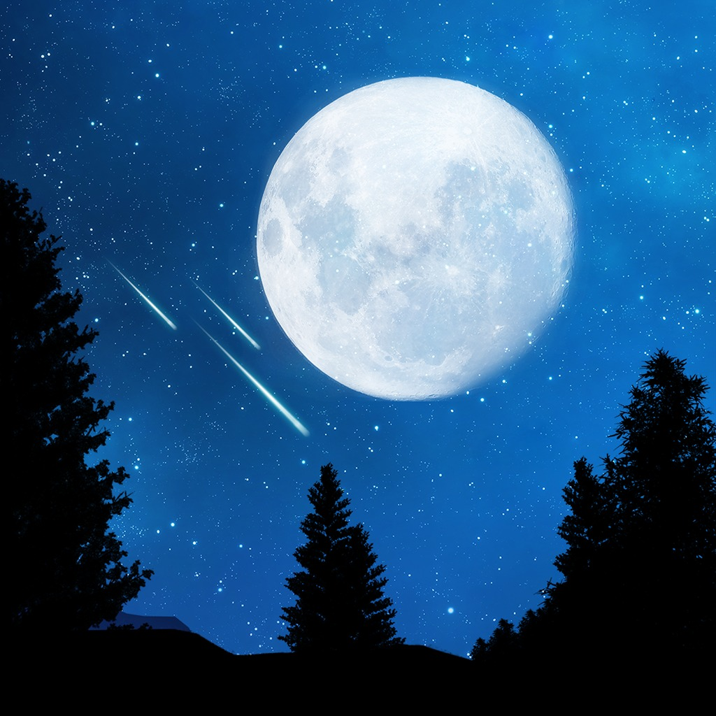 Meteor Shower Dynamic Theme