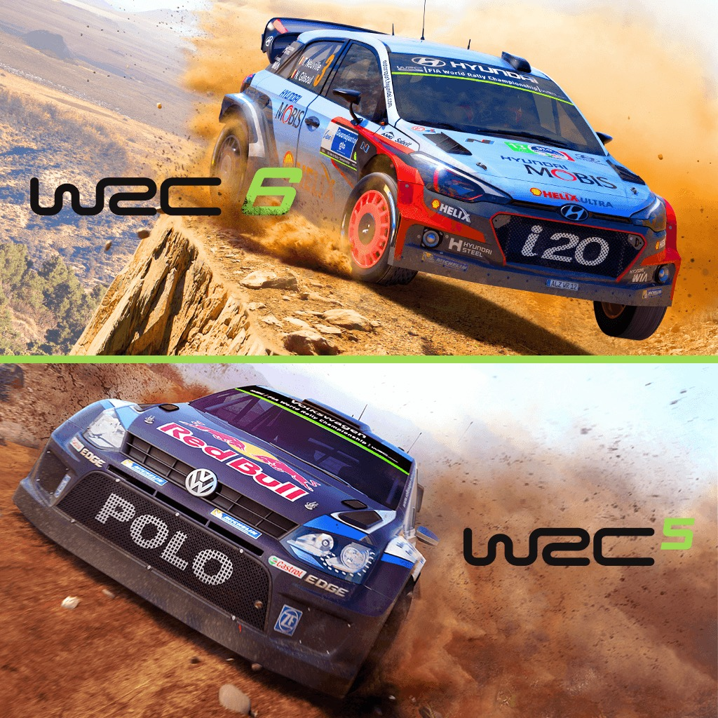 WRC 5 & 6 Deluxe Pack