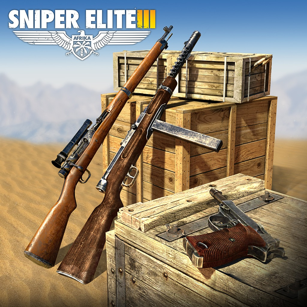 Sniper Elite 3 Axis Weapons Pack