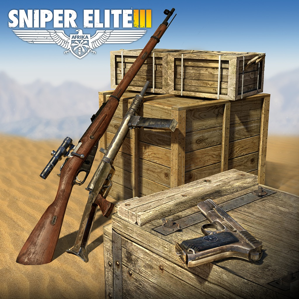 Sniper Elite 3 Eastern Front Weapons Pack