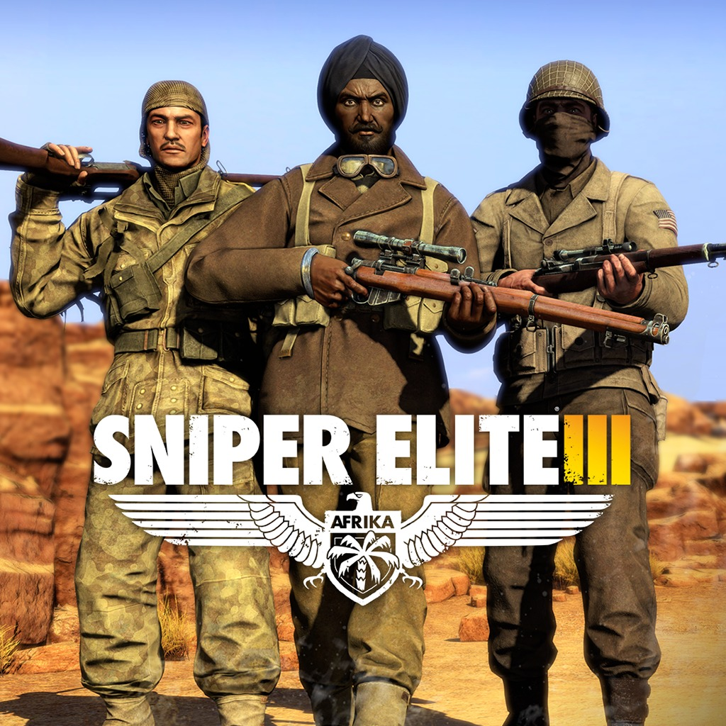 Sniper Elite 3 Allied Re-Enforcement Outfits Pack DLC