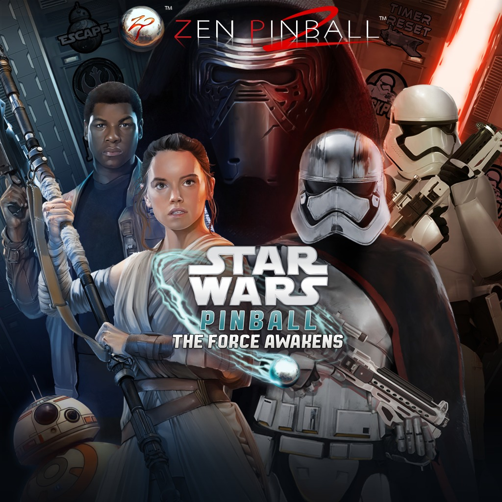 Zen Pinball 2 - Star Wars™ Pinball: The Force Awakens™ Pack