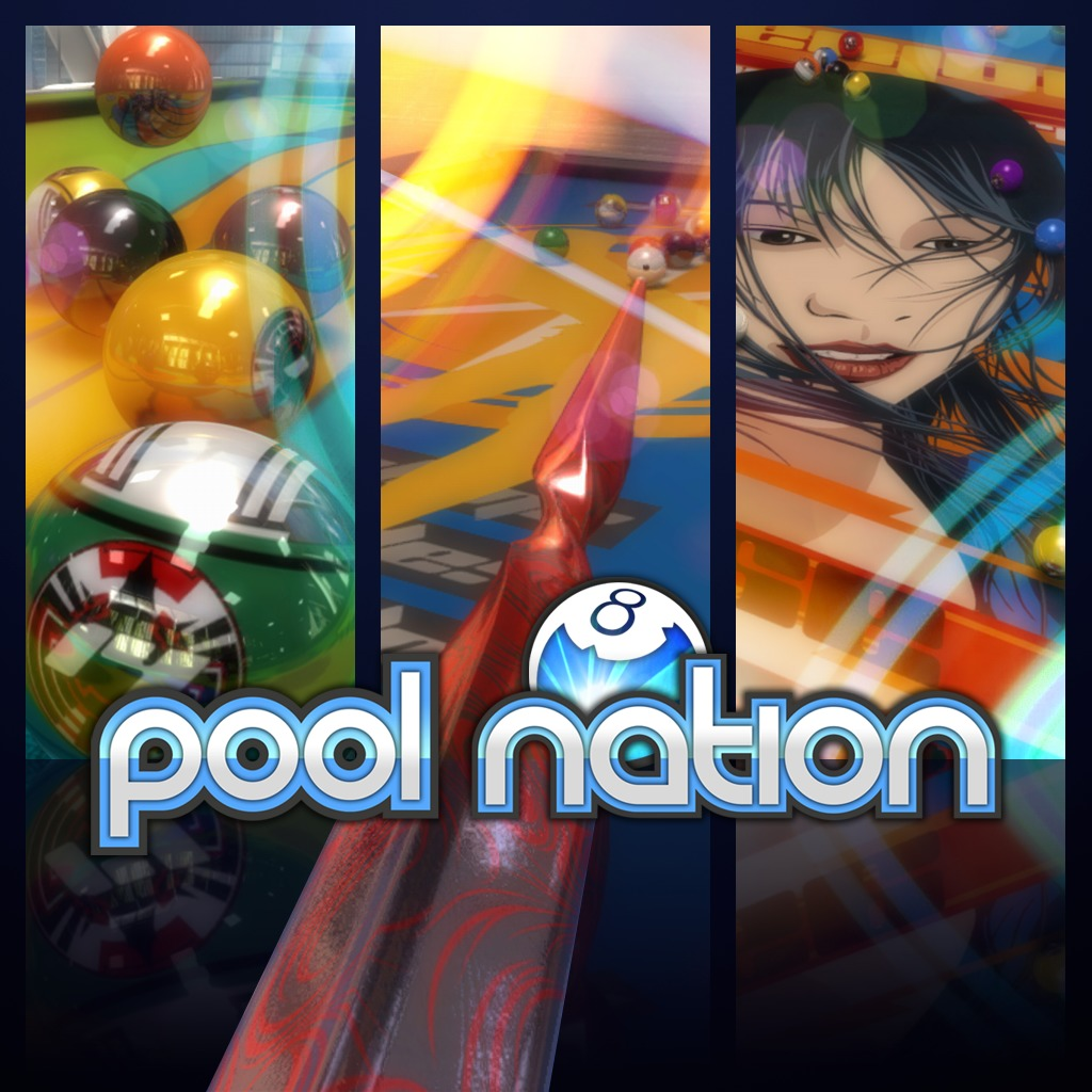 Pool Nation Cues, Balls & Decals Pack