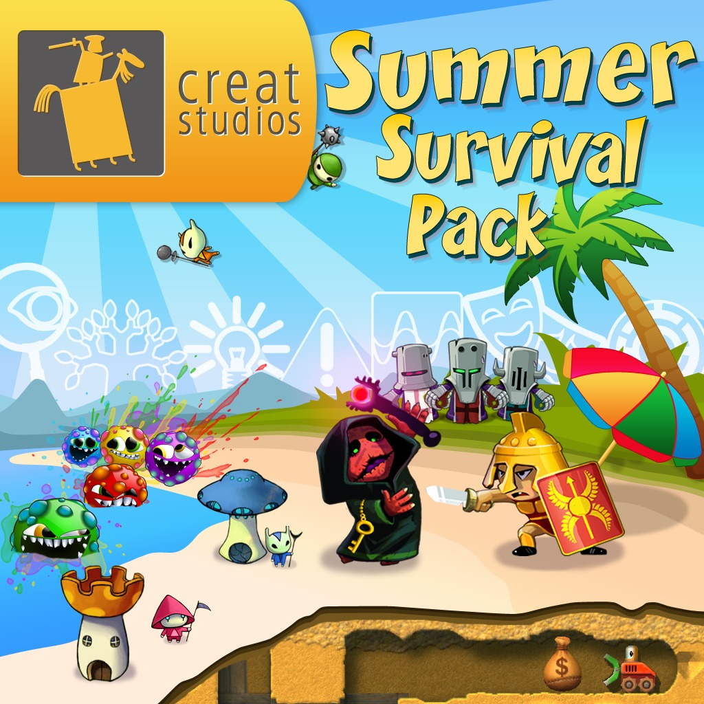 Creat Studios Summer Survival Pack