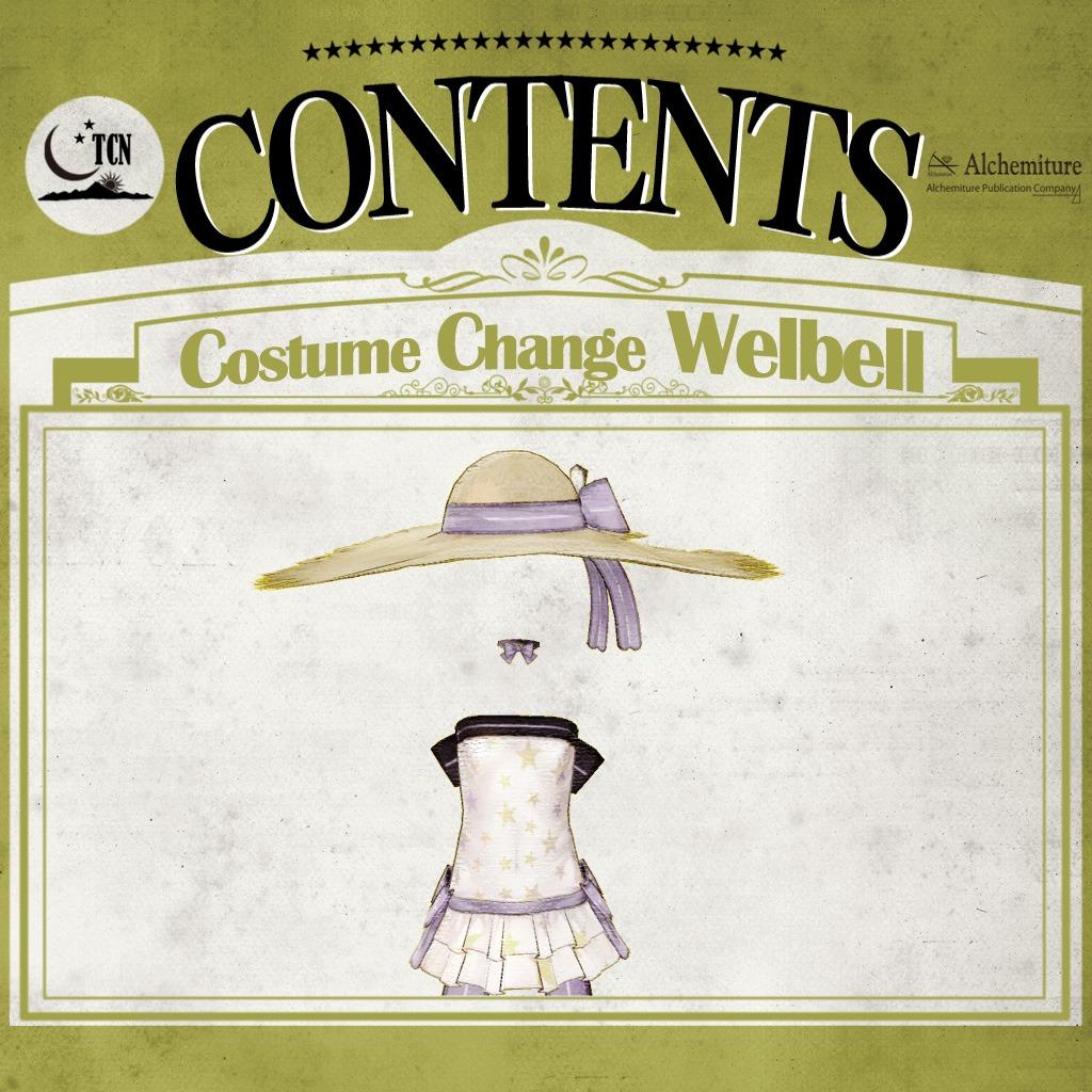 Atelier Ayesha: The Alchemist of Dusk - New Costume: Welbell