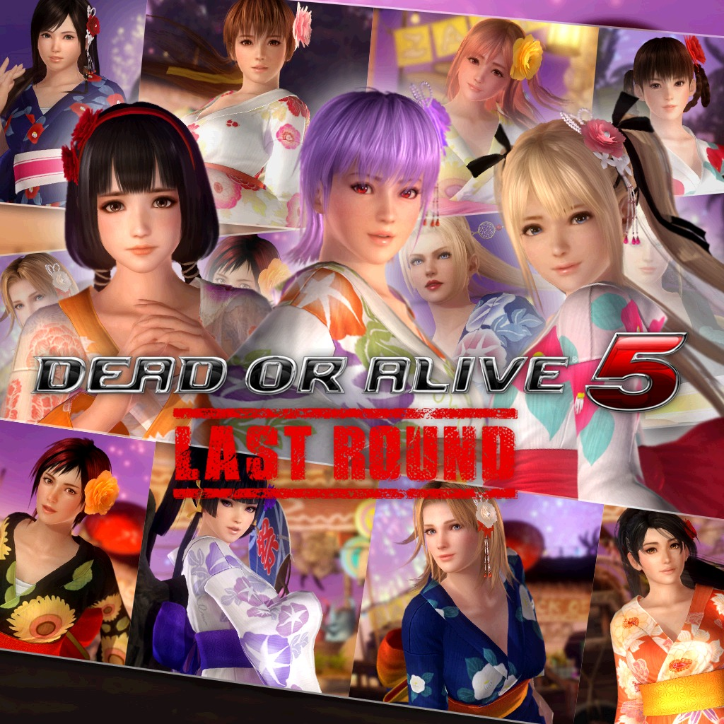 DOA5LR Summer Festival Costume Set